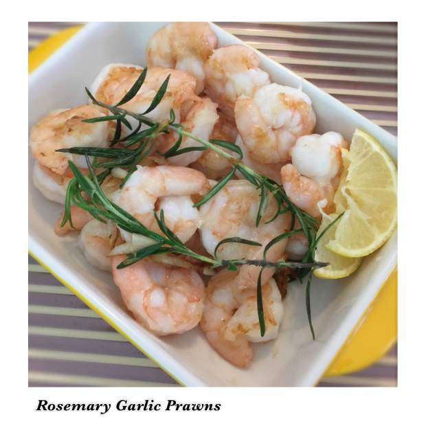 Rosemary Garlic Prawns